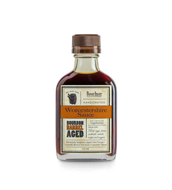 Bourbon Smoked Worcestershire Sauce by Bourbon Barrel Foods,BBAWSB