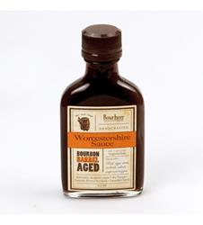 Bourbon Smoked Worcestershire Sauce by Bourbon Barrel Foods