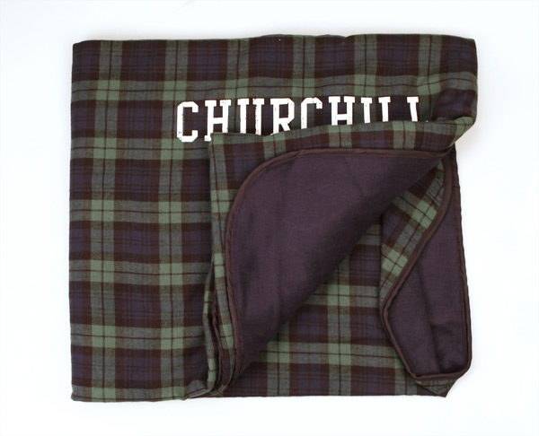 Churchill Downs Flannel Blanket,FB250B GREEN