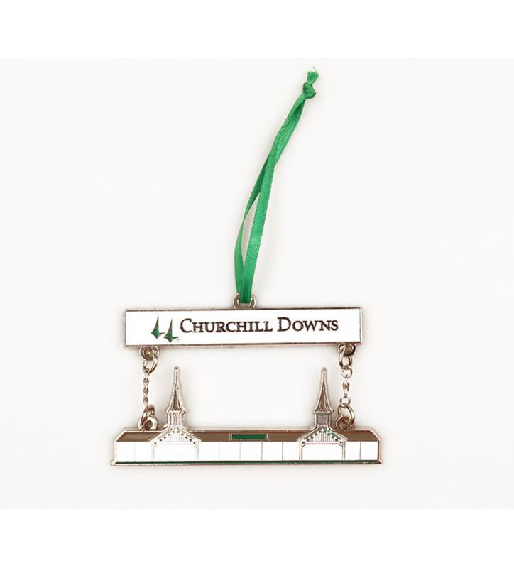 Churchill Downs Grandstand Ornament,HOL100 SUNCATCH