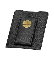 Churchill Downs Wallet and Money Clip,K158502 BLK CAMEO