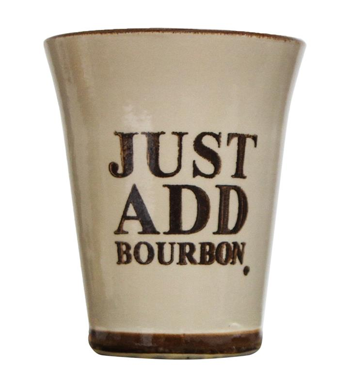 Just Add Bourbon Julep Cup by Louisville Stoneware,JABD010