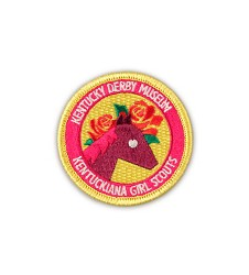 Kentucky Derby Museum Girl Scout Patch