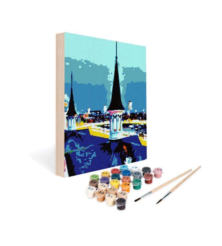 Paint by Number Art Kit--Take me to Churchill Downs,06-1212 12X12