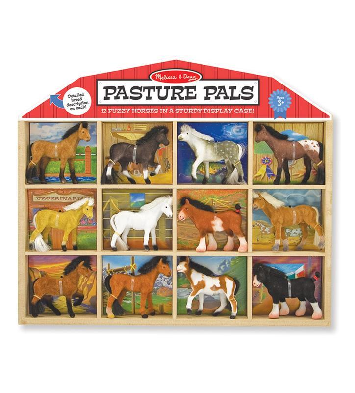 Pasture Pals Horse Figurine Set by Melissa and Doug,592
