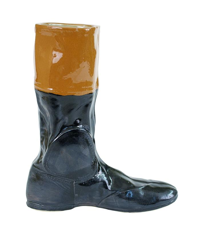 Ron Turcotte Replica Racing Boot by Louisville Stoneware