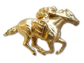 Secretariat Replica Penny Chenery Pin