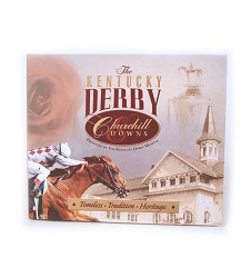 The Kentucky Derby Museum and Churchill Downs Book,SKU 80808 6 7/8