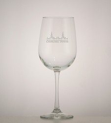 Grandstand Etched Wine Glass,01-012 LT ETCH 16 OZ