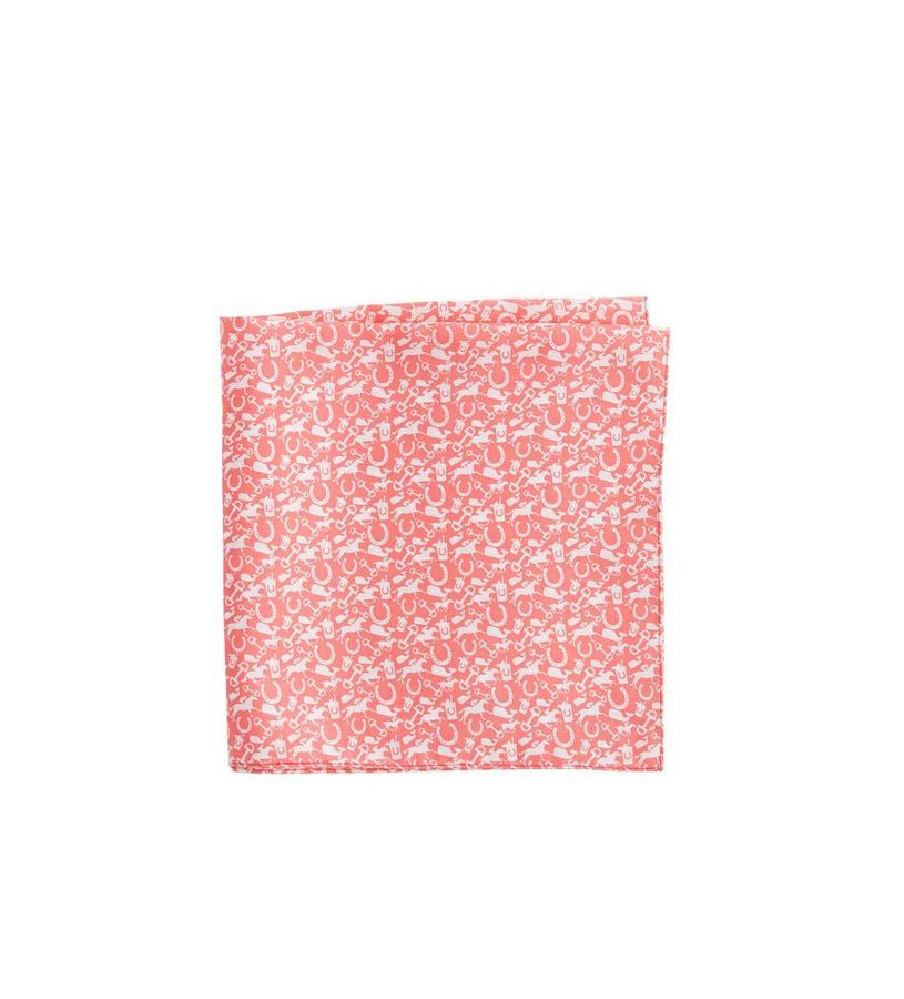 Vineyard Vines Derby Print Pocket Square,1A1750-978