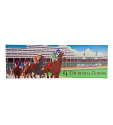 Churchill Downs Stretched Canvas Magnet