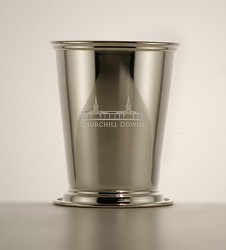 Grandstand Etched Mint Julep Cup