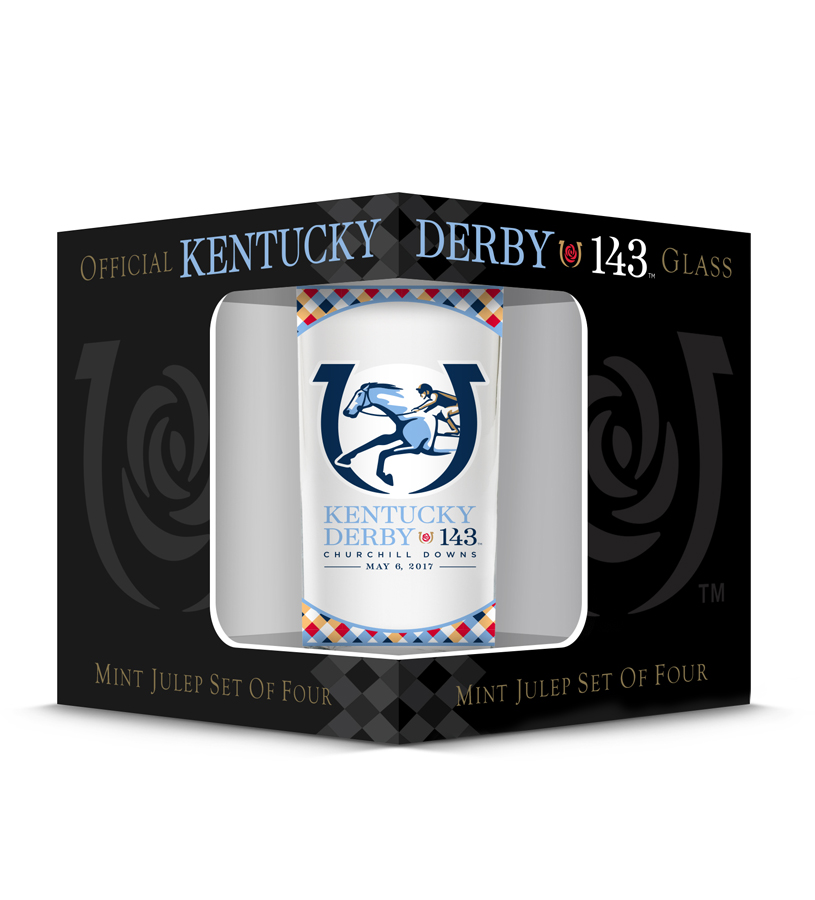 2017 Official Derby Glass,GD16195MJ