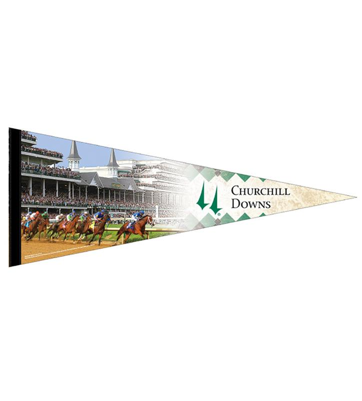 Churchill Downs Varisty Pennant,CD PENNANT