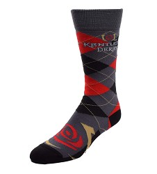 Horizontal Icon Argyle Sock