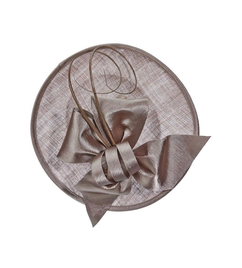 The Curled Quill Fascinator,LDF47-ASST LATTE