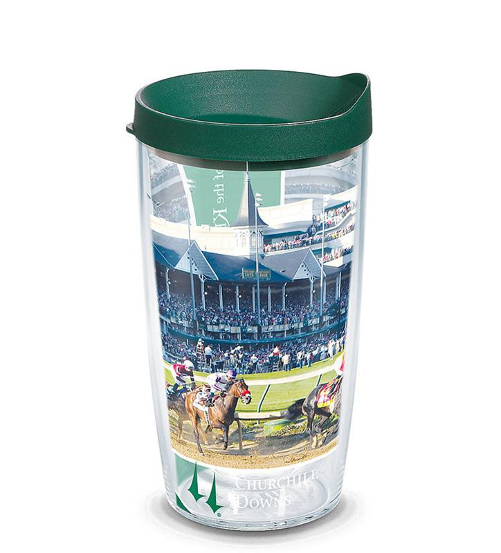 Churchill Downs First Turn Full Wrap Tumbler,1251357