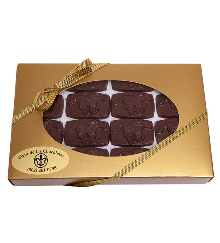 48pc Horse & Jockey Chocolates,Chocolate & Mint