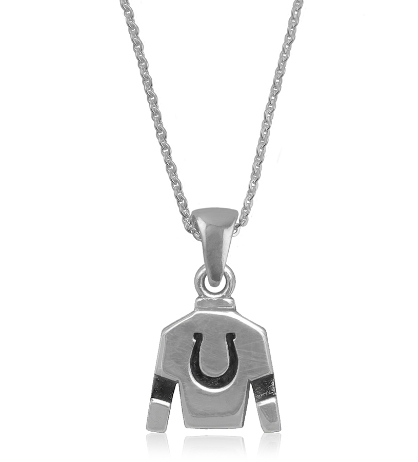 Jockey Silks Necklace,SILKS-6118
