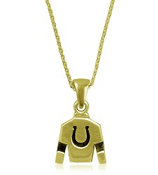 Jockey Silks Dangle Necklace