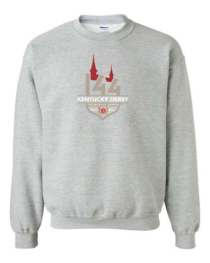Derby 144 Official Logo Event Crewneck Sweatshirt,8KSAH 27753-8