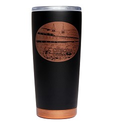 Churchill Downs Black/Copper Tumbler