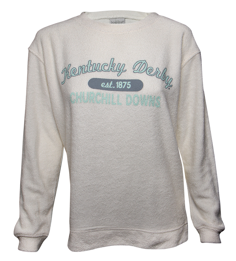Kentucky Derby Cozy Crew Sweatshirt,L01DEN F17004
