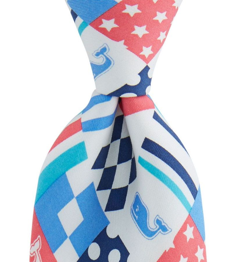 Vineyard Vines 2018 Patchwork Tie,1T3422-998