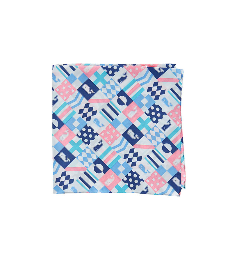 Vineyard Vines 2018 Patchwork Pocket Square,1A5174-998