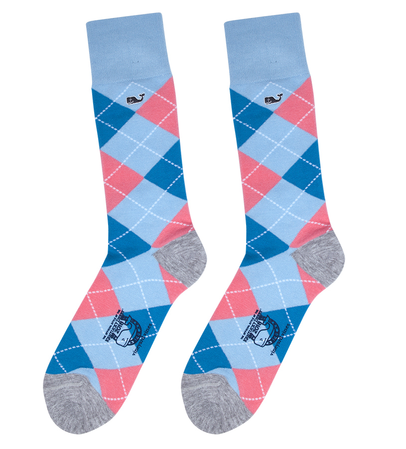 Vineyard Vines 2018 Argyle Socks,1A5178-HULL BLUE