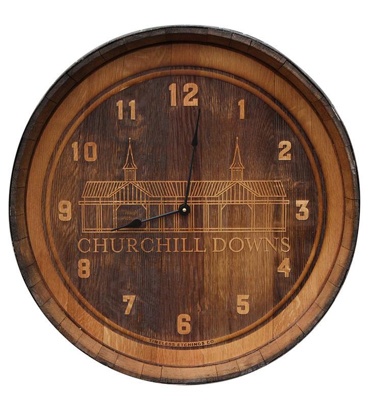 Grandstand Barrelhead Clock,CHURCHILL-LINES-CLK
