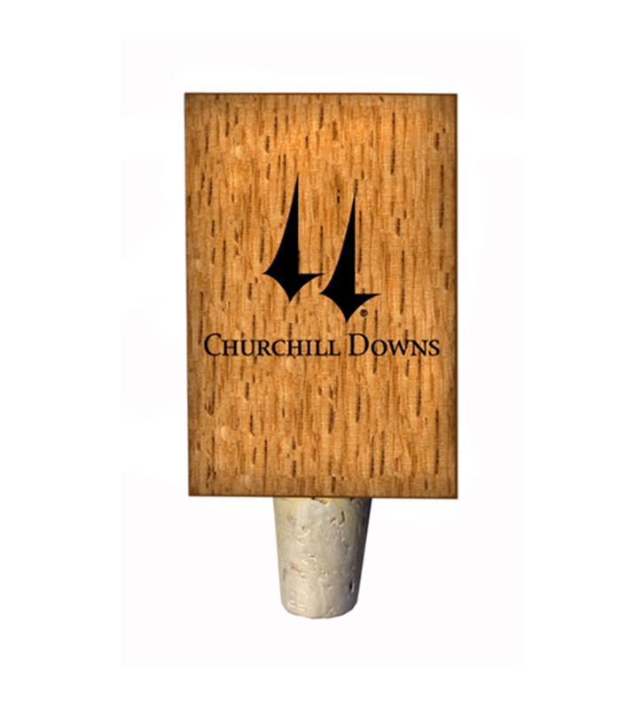 Churchill Downs Logo Bottle Stopper,CHURCHILL-BS