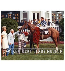 1973 Secretariat Winner's Circle Photo,#O1000-46