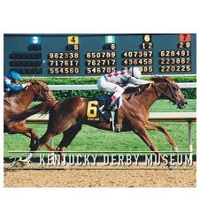 2003 Funny Cide Finish Photo,#129-910-10A