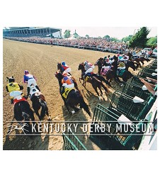 2003 Funny Cide Starting Gate Photo,#129-764-6