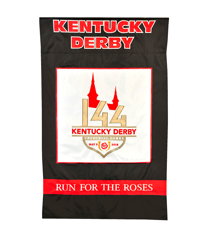 Kentucky Derby 144 Nylon Flag,#79060 FLAG