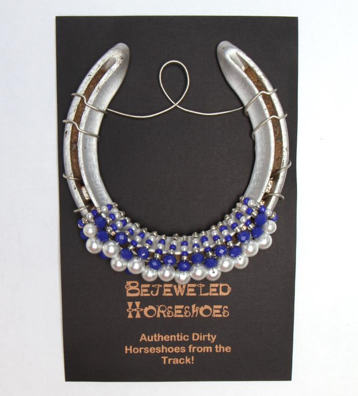 Meadow Stable Bejeweled Horseshoe,SECRETA HS