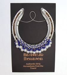 Meadow Stable Bejeweled Horseshoe