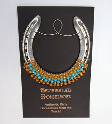 Triple Crown Bejeweled Horseshoe