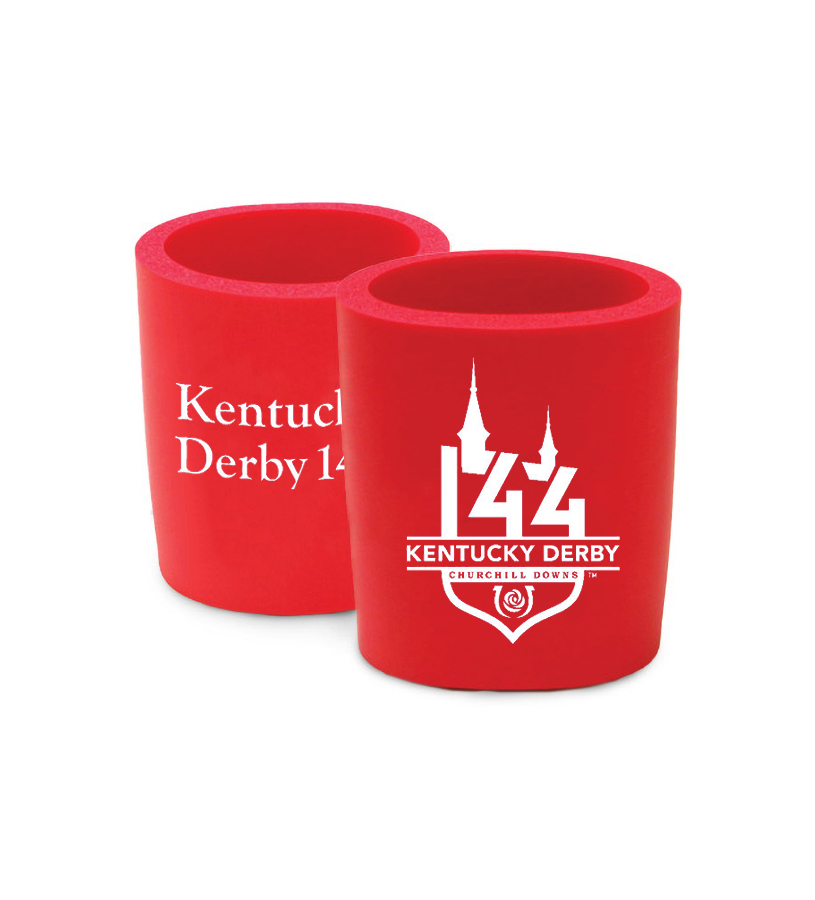 Kentucky Derby 144 Foam Coozie,#44465 FOAM COOZIE