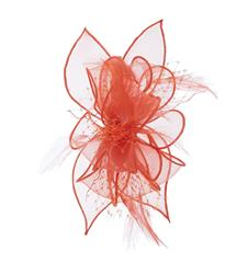 The Organza Netting Fascinator Clip