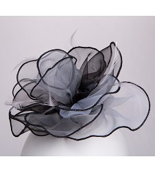 The Organza Rose Fascinator Clip