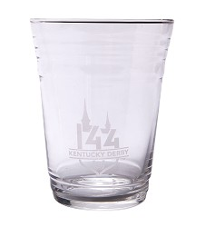 Kentucky Derby 144 Etched Party Cup