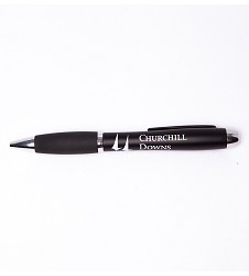 Churchill Downs Black DaVinci Pen
