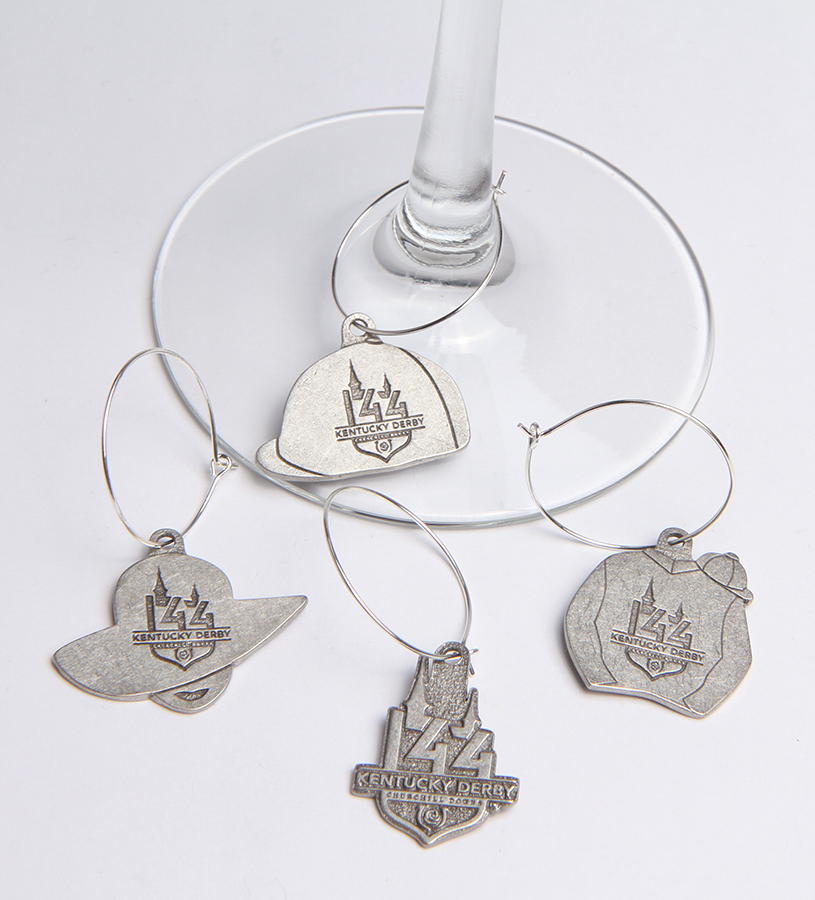 Kentucky Derby 144 Wine Charm Set,KWCS418-KD144