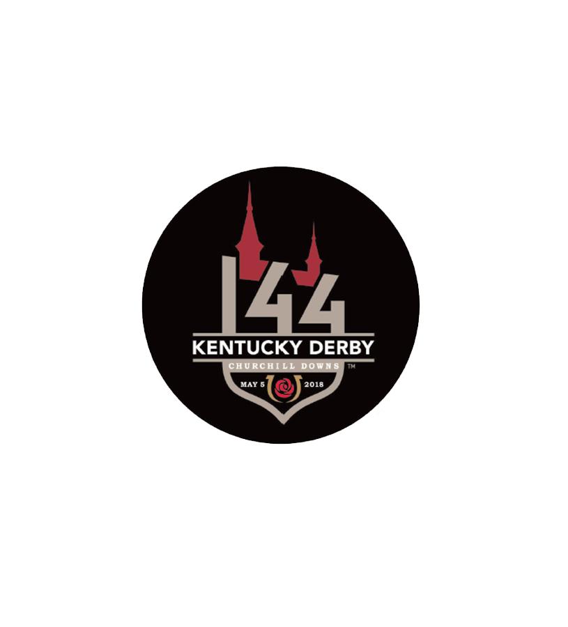 Kentucky Derby 144 Souvenir Button,??????