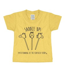 Saddle Up Stick Horse Tee