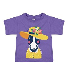 Derby Hat Horse Toddler Tee