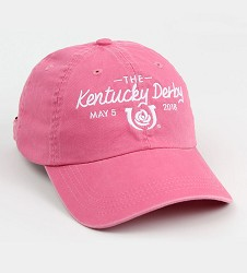 Kentucky Derby 144 Ladies Pigment Dyed Logo Cap
