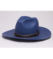 """Spring is in the Air"" Big Brim Straw Fedora"